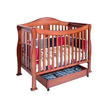 Davinci Parker 4 In 1 Crib With Toddler Rail Cherry Nebraska Furniture Mart Cribs Baby Cribs Convertible