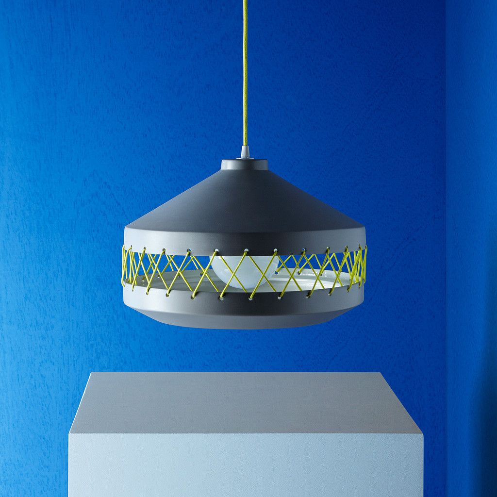 Tie lamp by laura marin for incipit the lighting collection