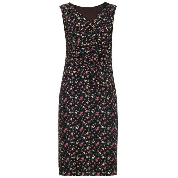 floral print dress - Black Nina Ricci U4bEm
