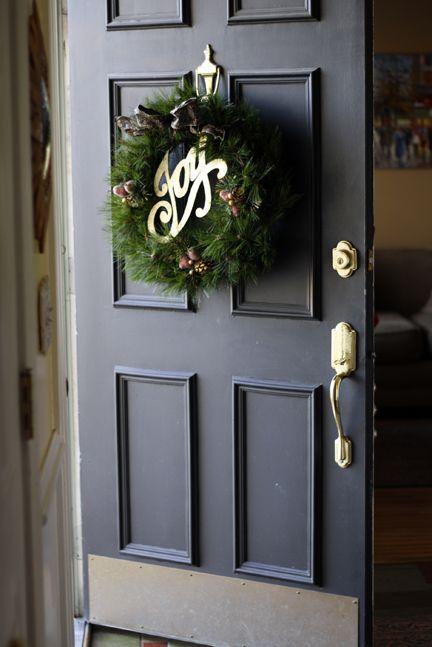 inside front door open. Front-door-open-inside-wreath Inside Front Door Open N