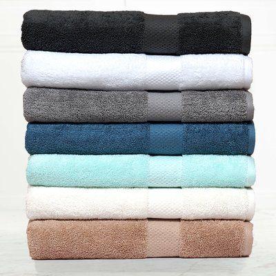 Ebern Designs Giltner Luxury Soft Cotton Bath Towel Bath Towels