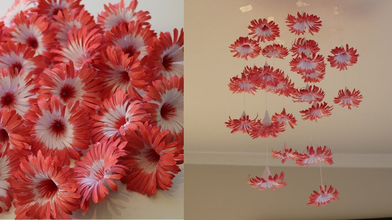 Paper Flower Is Always Easy To Make Simple But Beautiful With Some