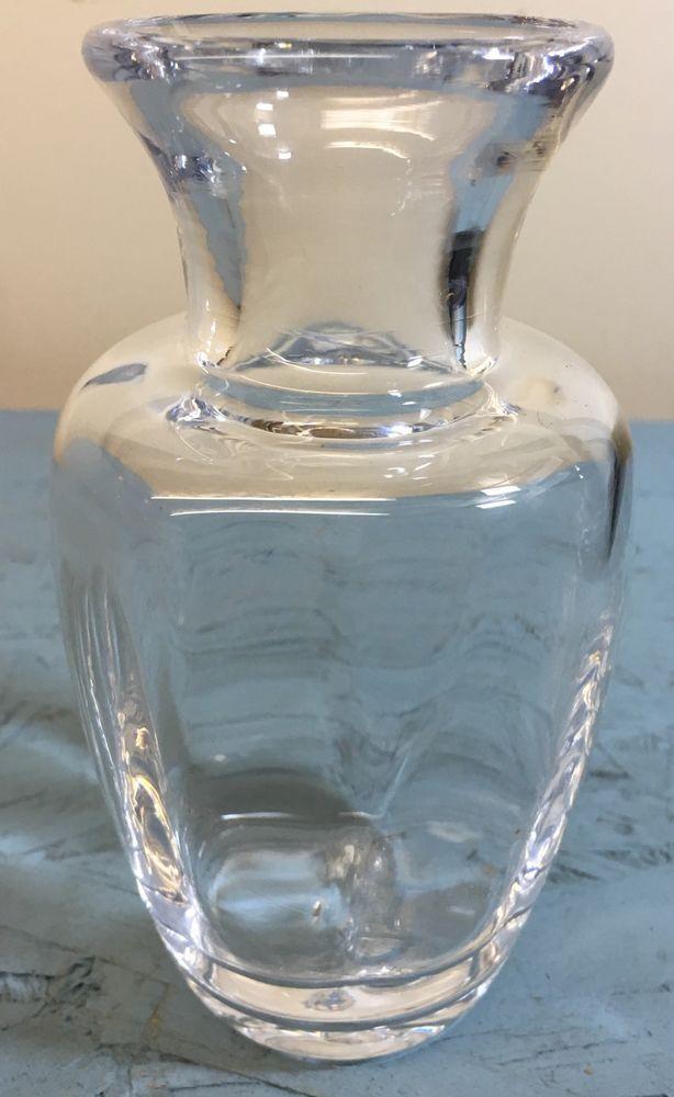 Beautiful 5 75 Tall Simon Pearce Shelburn Optic Vase Hand Blown