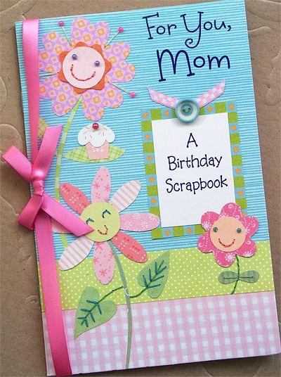 Scrapbooking Birthday Card Handmade Scrapbooking Pinterest