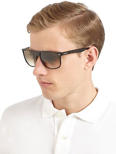 a5d72a49c3 Ray-Ban - Flat-Top Boyfriend Sunglasses | Gifts Ideas!!! | Ray ban ...