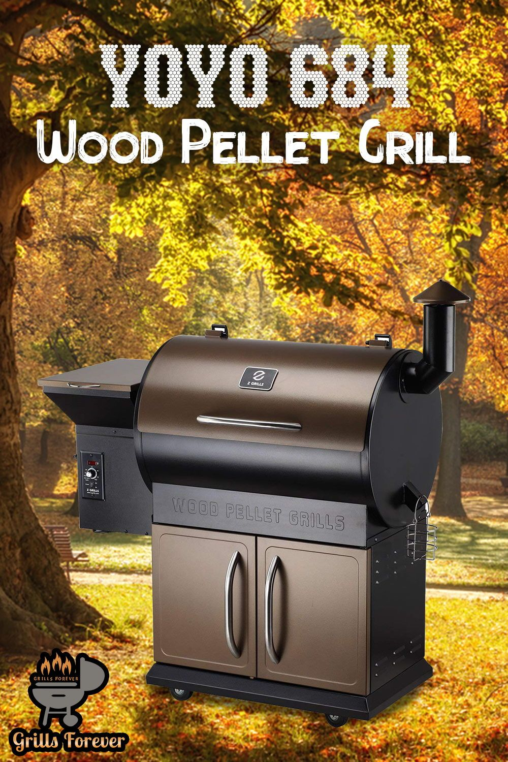 YOYO 684 Wood Pellet Grill Review | Top Grilling Brands