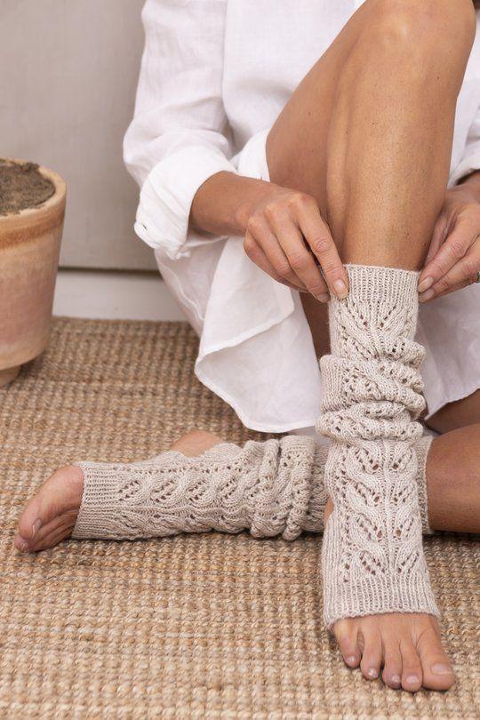 Namaste yoga socks Novita Nalle in 2020 | Yoga socks ...