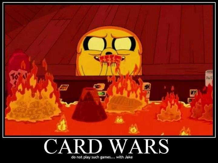 Card wars | Adventure time, Adventure time art, Adventure