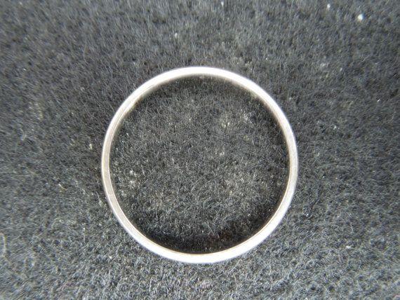 Vintage Gold Ring 10 Karat Gold Wedding Band Stamped Rmi 10k Size
