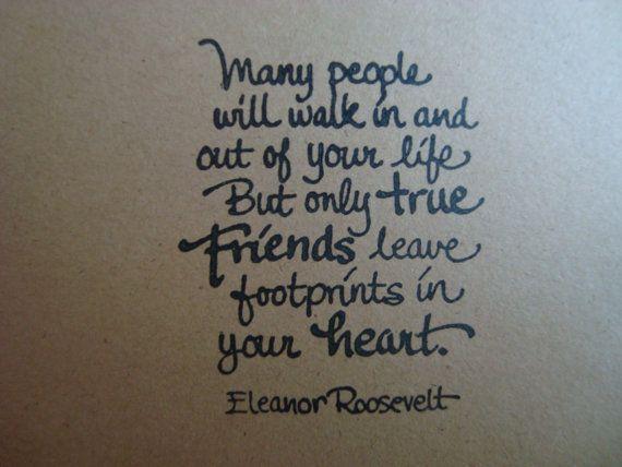 eleanor roosevelt friendship quotes