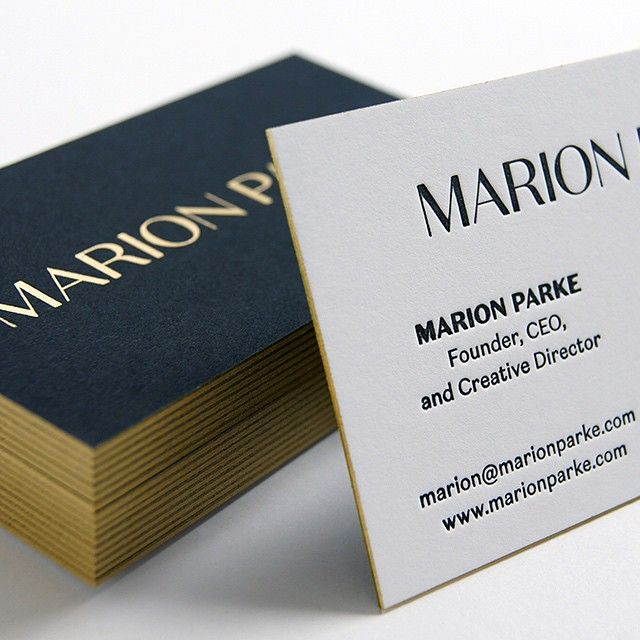 2x35 business card with duplexed epic black 130 cover 2ply these letterpress business cards were printed for marion parke theyre a x business card with duplexed epic black cover 2 ply rising museum board reheart Choice Image