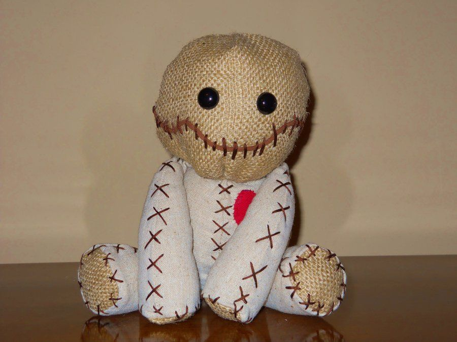 how to make a voodoo doll out of a sock