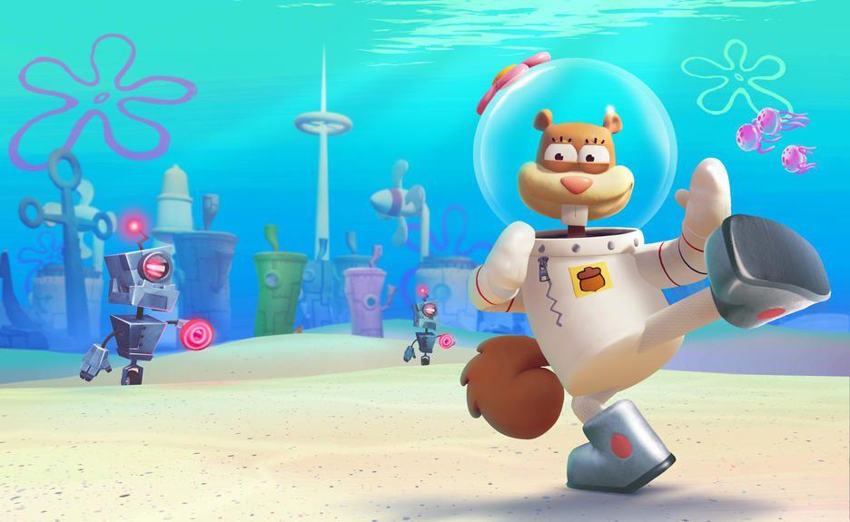 How To Unlock Sandy In Spongebob Squarepants Battle For Bikini Bottom Rehydrated In 2020 Spongebob Squarepants Spongebob Squarepants