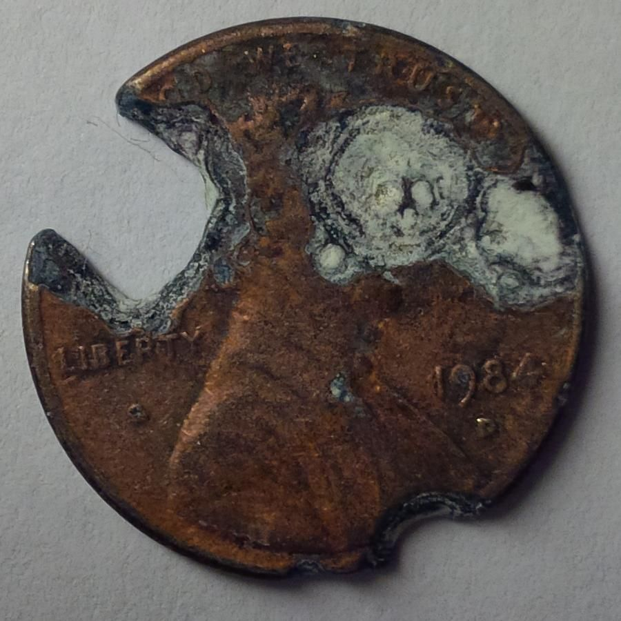 Penny With A Hole In It