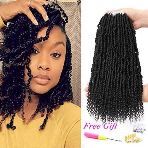 New 6packs Bomb Twist Crochet Hair Mini Passion Twist Hair Prelooped Crochet Braids Synthetic Hair Exten Braided Hairstyles Hair Styles Braided Hairstyles Easy