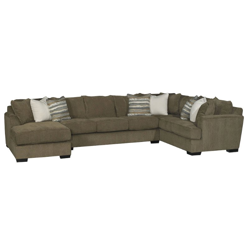 Admirable Brown 3 Piece Sofa Bed Sectional With Laf Chaise Unemploymentrelief Wooden Chair Designs For Living Room Unemploymentrelieforg