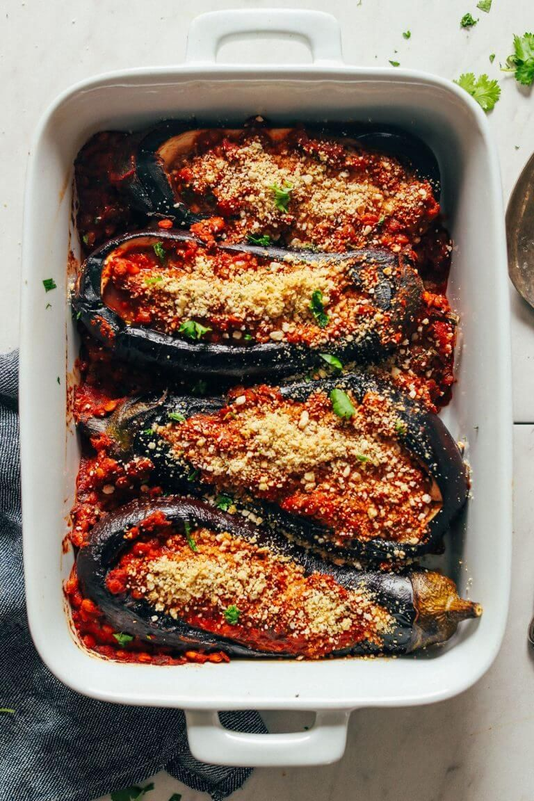 30 Best Recipes For Eggplants Grønsagsretter Eggplant