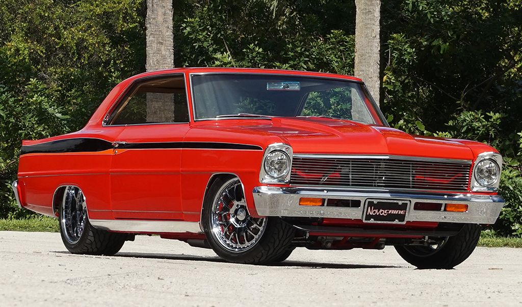 1966 Chevrolet Nova Resto Mod Specs For Sale Las Vegas Classic Car