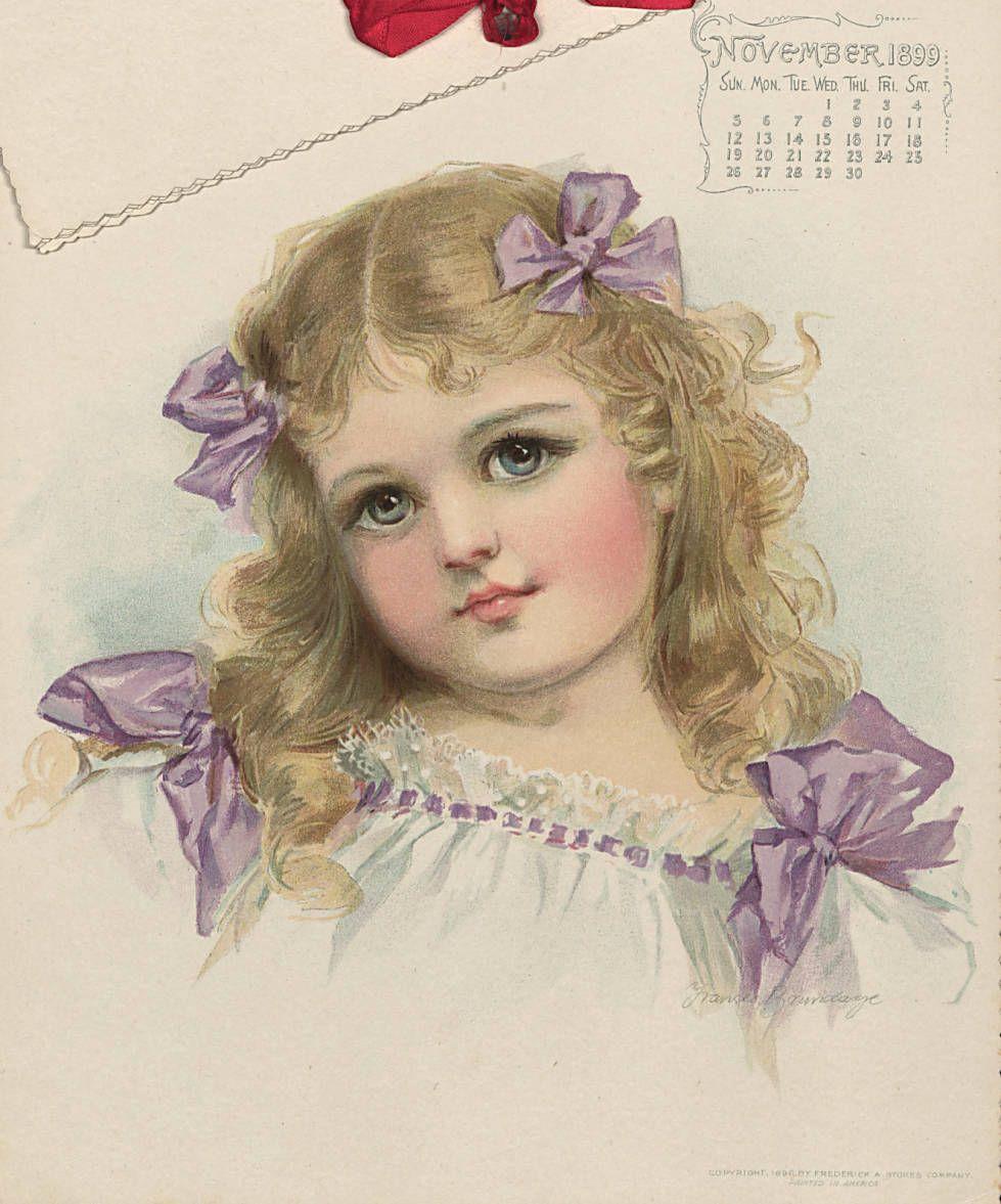 Старинные календари, винтаж
