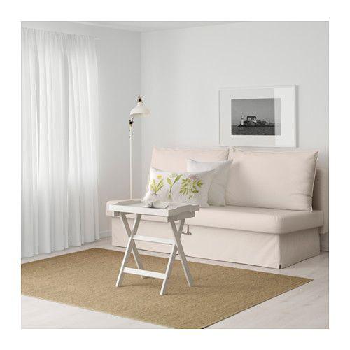 Slipcovers For Sofas IKEA HIMMENE Three seat sofa bed Lofallet beige This sofa converts into a spacious bed really quickly and easily when you pull the underframe upwards