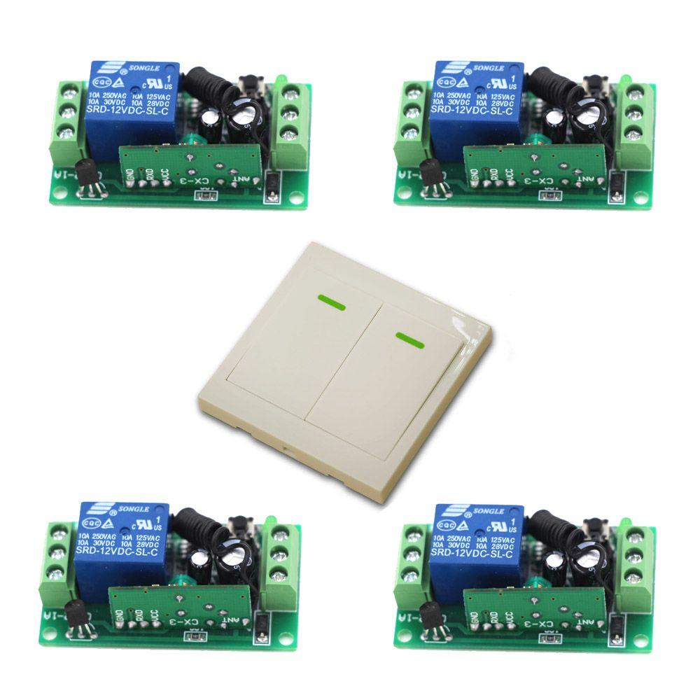 315Mhz Wireless Relay Module Switch Remote Control Switch 9V/12V/24V