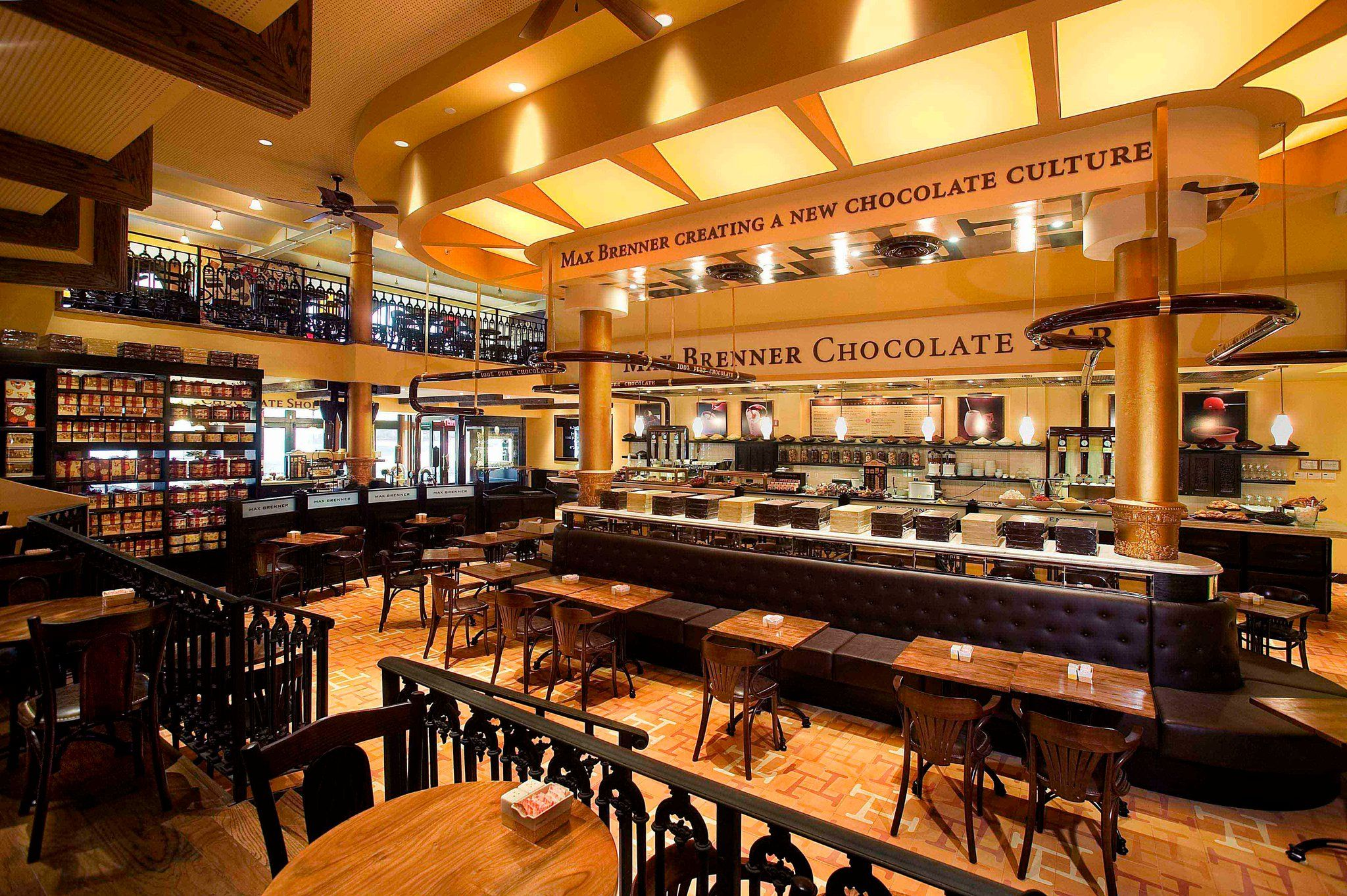 Max Brenner in NYC...Creating a New Chocolate Culture Worldwide. A ...
