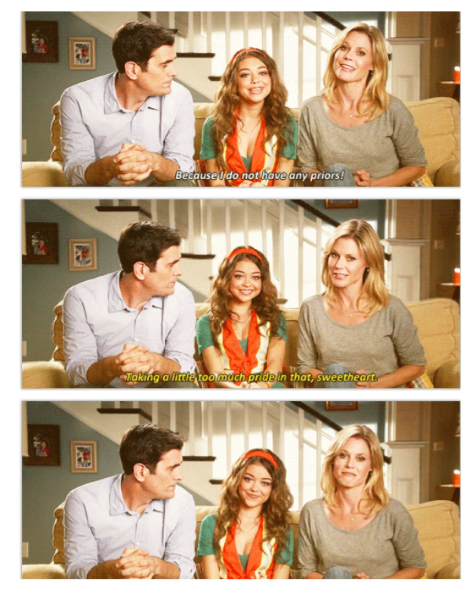 No Priors Modern Family Quotes Modern Family New Modern Family