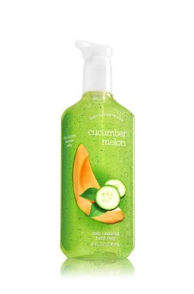 Cucumber Melon Deep Cleansing Hand Soap Bath Body Works