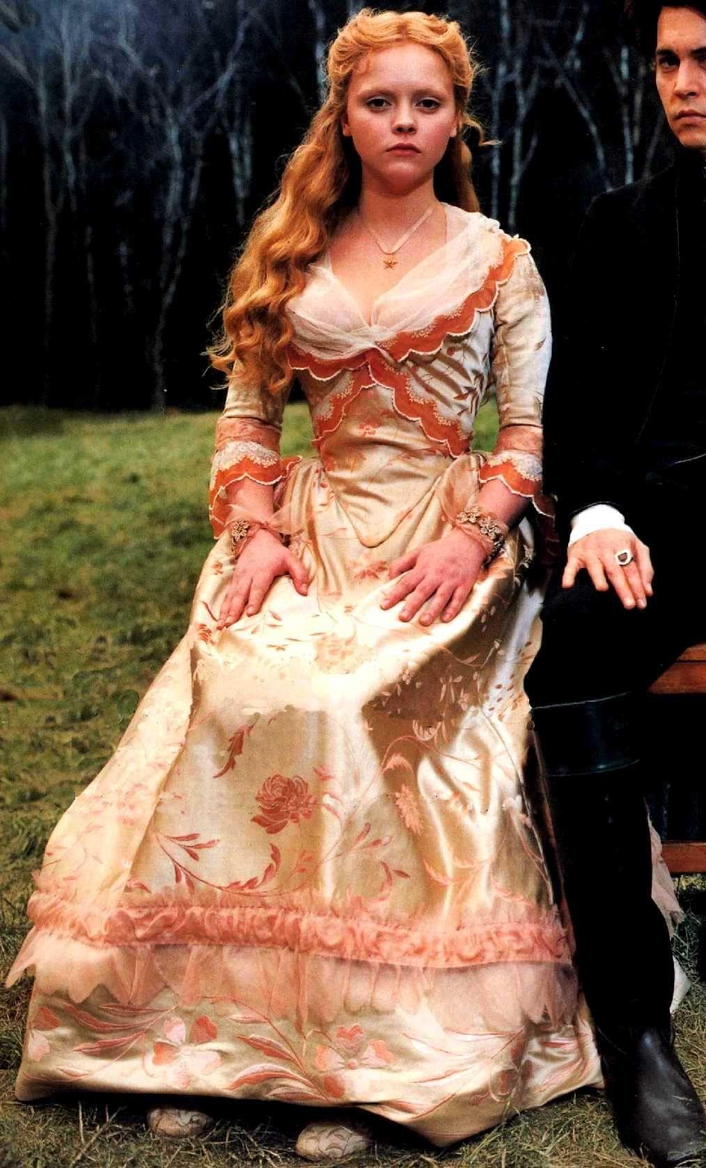 christina ricci as katrina von tassel in sleepy hollow