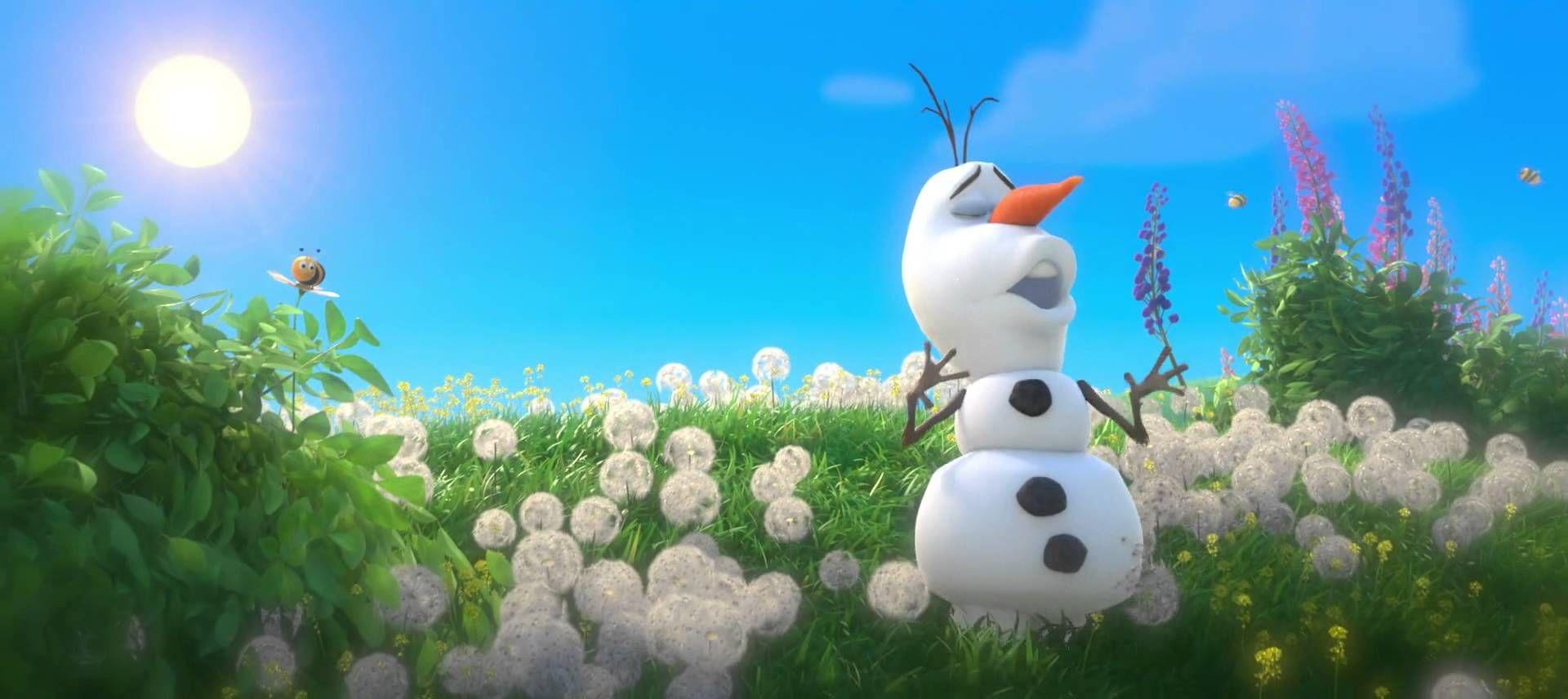 Olaf bonhomme de neige chante en t c 39 est un tel - Bonhomme de neige olaf ...