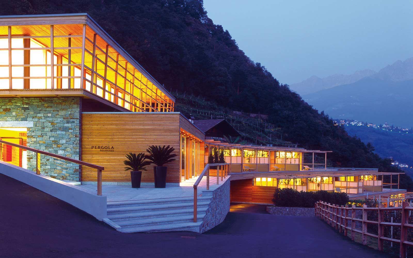 Pergola South Tyrol, Italy Hotel südtirol, Meran, Pergola