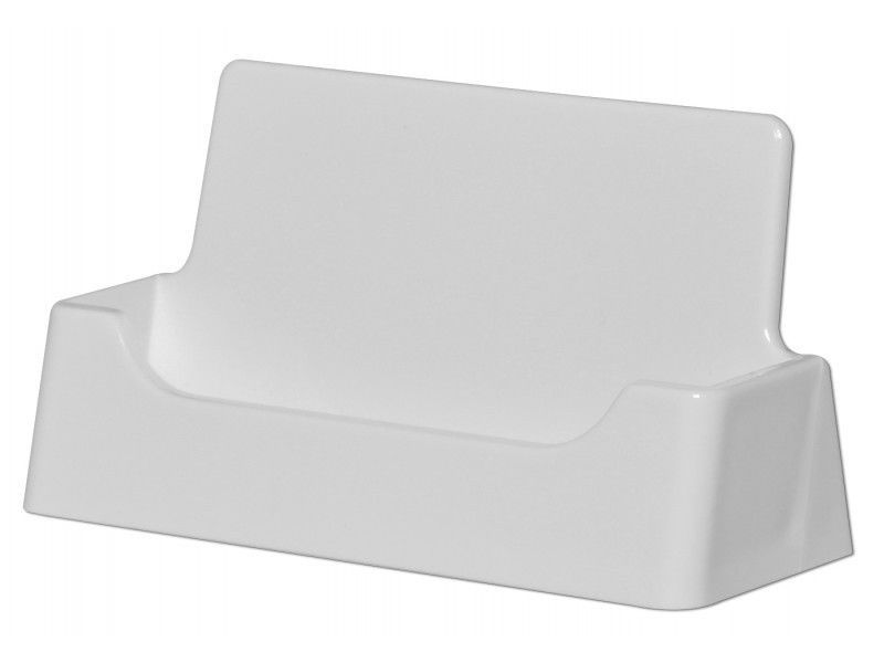 50 Business Card Holders WHITE Counter top Display Office Supplies ...