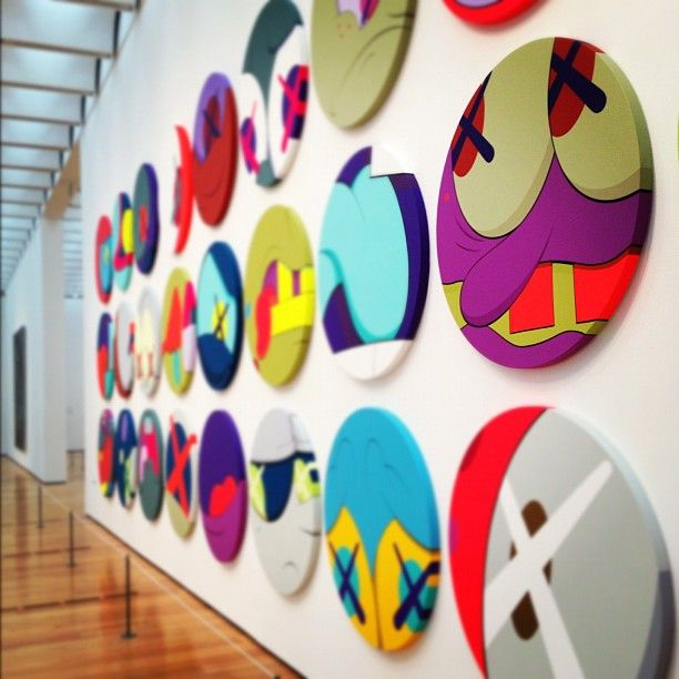 """KAWS """"Down Time"""" Atlanta Exhibition Coverage"""