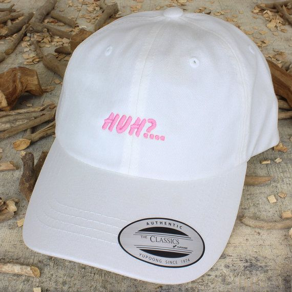 dad hat with embroidery Choose your own hat color All in house embroidered  - made to order High quality dad hat from yupoong One size fits all Shipped  ... da0c8565b63