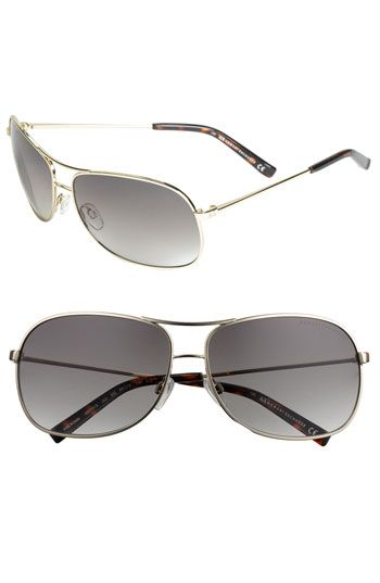 96218acba080 AX Armani Exchange Metal Aviator Sunglasses available at  Nordstrom ...