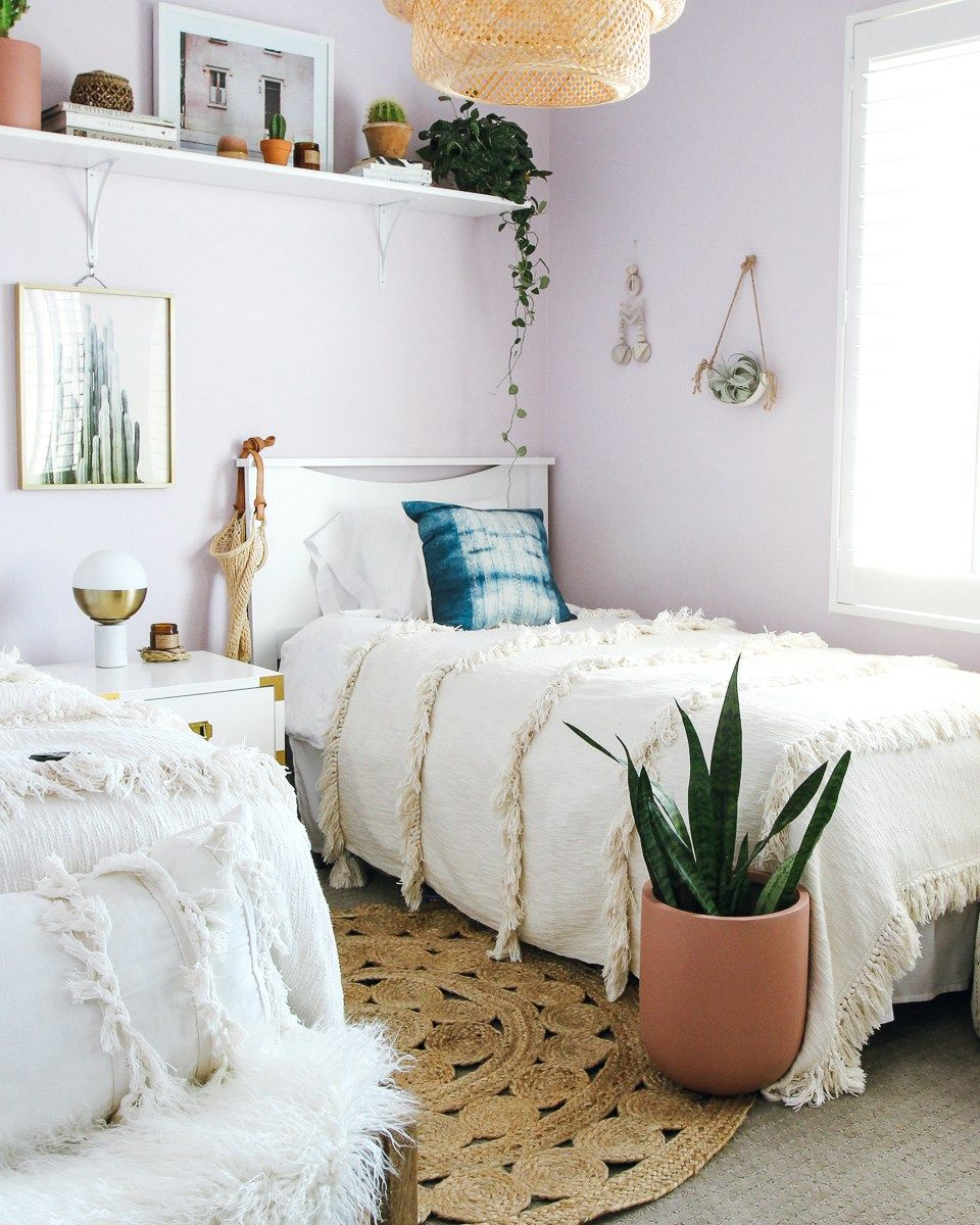 20 Rules to a Lavender Inspired Bedroom (With images)  Room