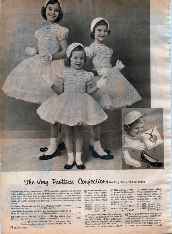 1950s Dresses & Skirts: Styles, Trends & Pictures #vintagefashion1950s