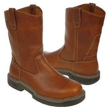 "Wolverine Men's Raider 10"" Wellington Soft Toe Work Boot at shoes.com"