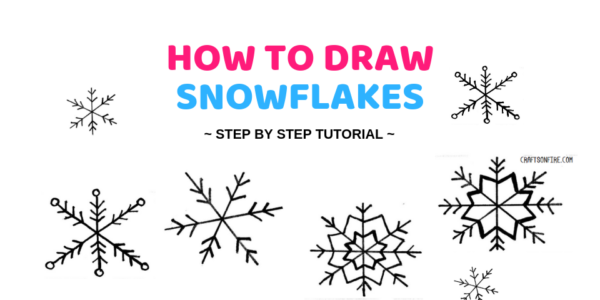 How To Draw A Snowflake In 3 Steps  Easy Drawing Tutorial is part of Easy diy crafts, Diy crafts, Diy home repair, Crafts, Paint chip crafts, Easy diy - Do you love snowflakes  Then learn how to draw a snowflake in just three easy steps  Here you'll find the best step by step drawing instructions!