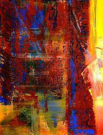 confus 1986 by gerhard richter abstrakte kunst malerei abstraktes bild malen schwarz weiß bilder