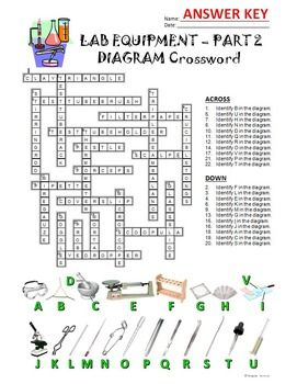 Lab equipment crossword with diagram part 2 editable lab lab equipment crossword with diagram part 2 editable ccuart Image collections