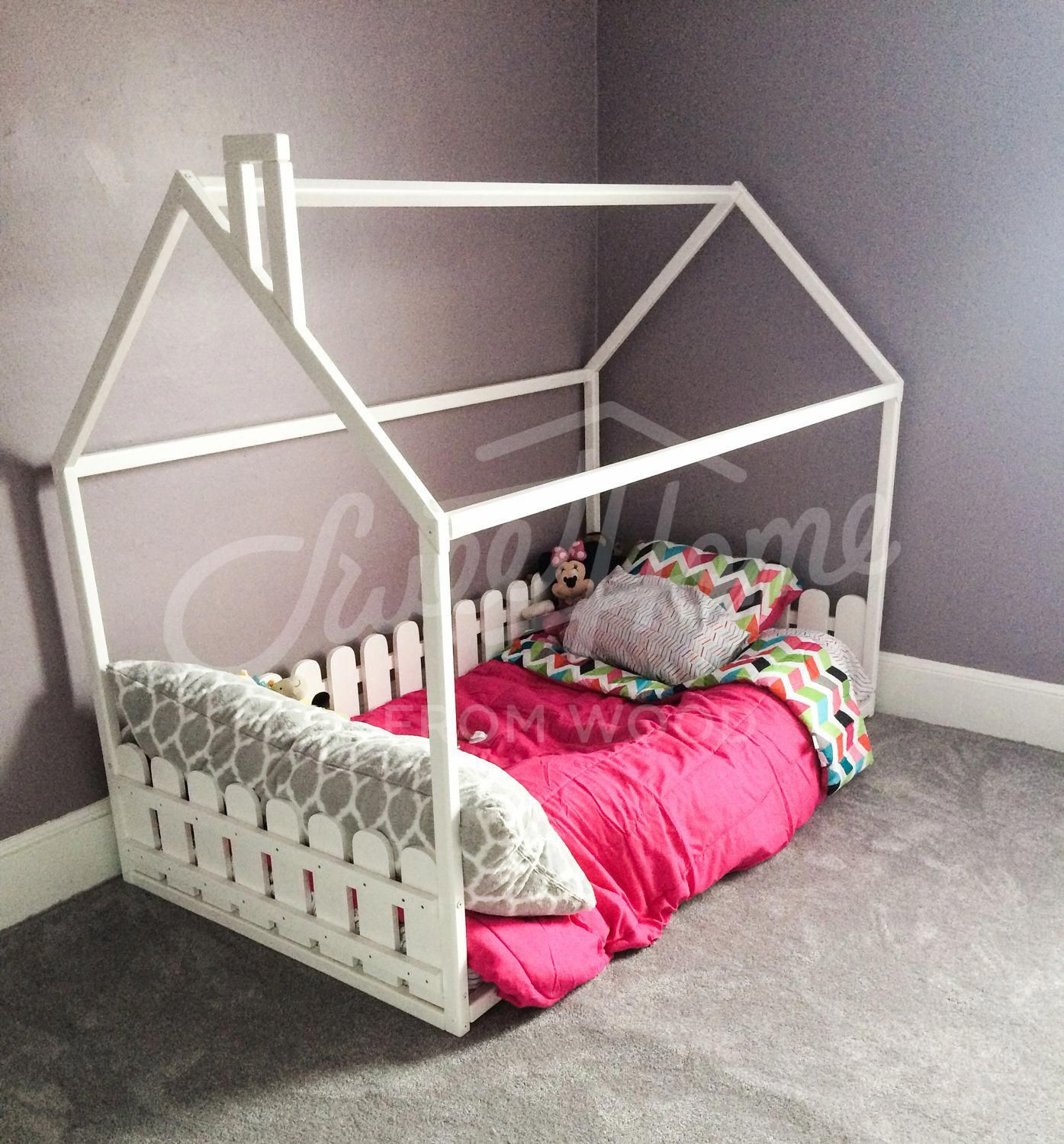 Children Bed Toddler Bed House Bed House Bedroom Interior Unique