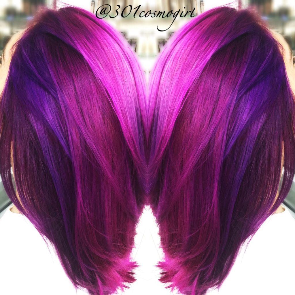 30 Loveliest Magenta Hair Color Ideas Lovehairstyles Magenta Hair Colors Magenta Hair Hair Styles