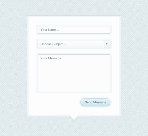 Modal Box Contact Form PSD by *ormanclark on deviantART freebies - feedback form template