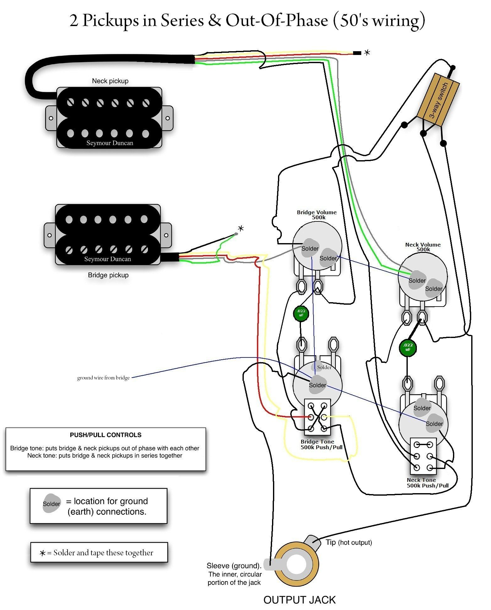 Gibson Guitar Wiring Diagram Mod