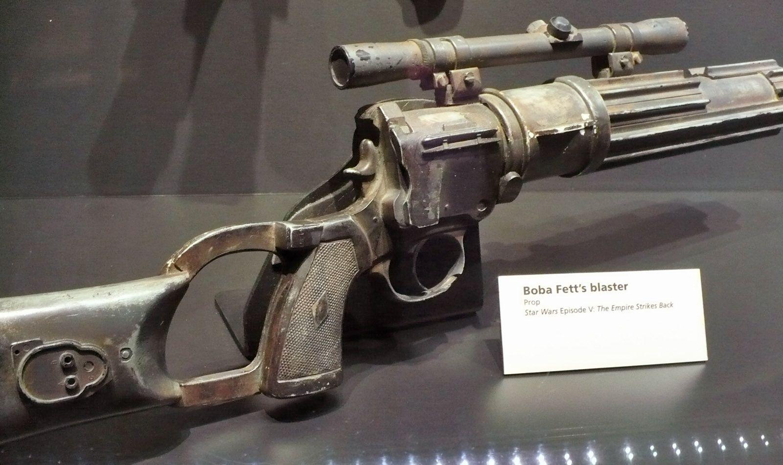 Boba Fett Rotj Blaster Blastech Ee 3 Classic Trilogy