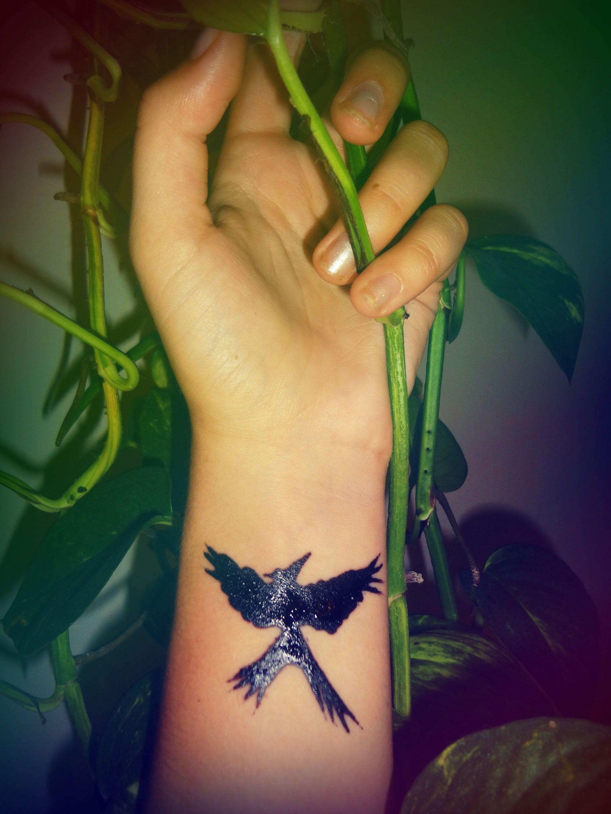 Hunger Games Mockingjay Henna Tattoo Mockingjay Tattoo