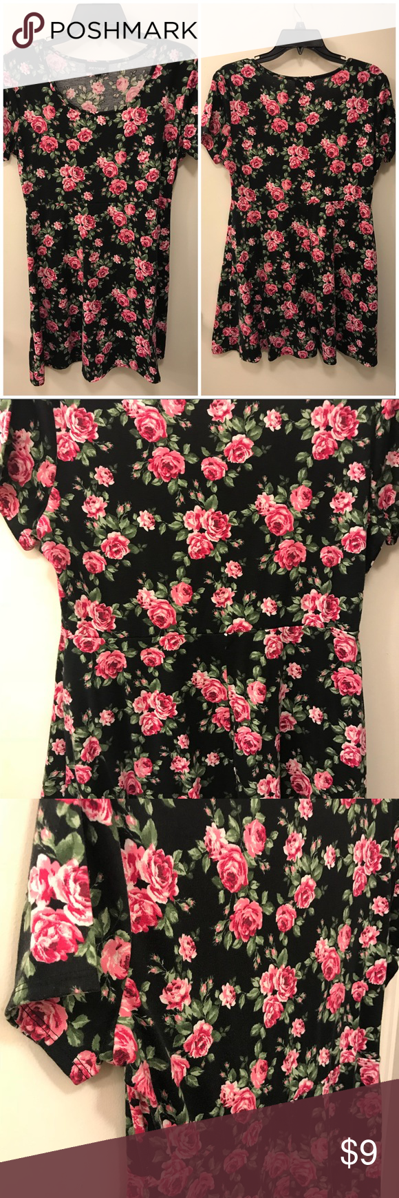 eee8f0d2e506 Spotted while shopping on Poshmark: Joe Boxer Juniors' Skater Dress - Floral  Size XL! #poshmark #fashion #shopping #style #Joe Boxer #Dresses & Skirts
