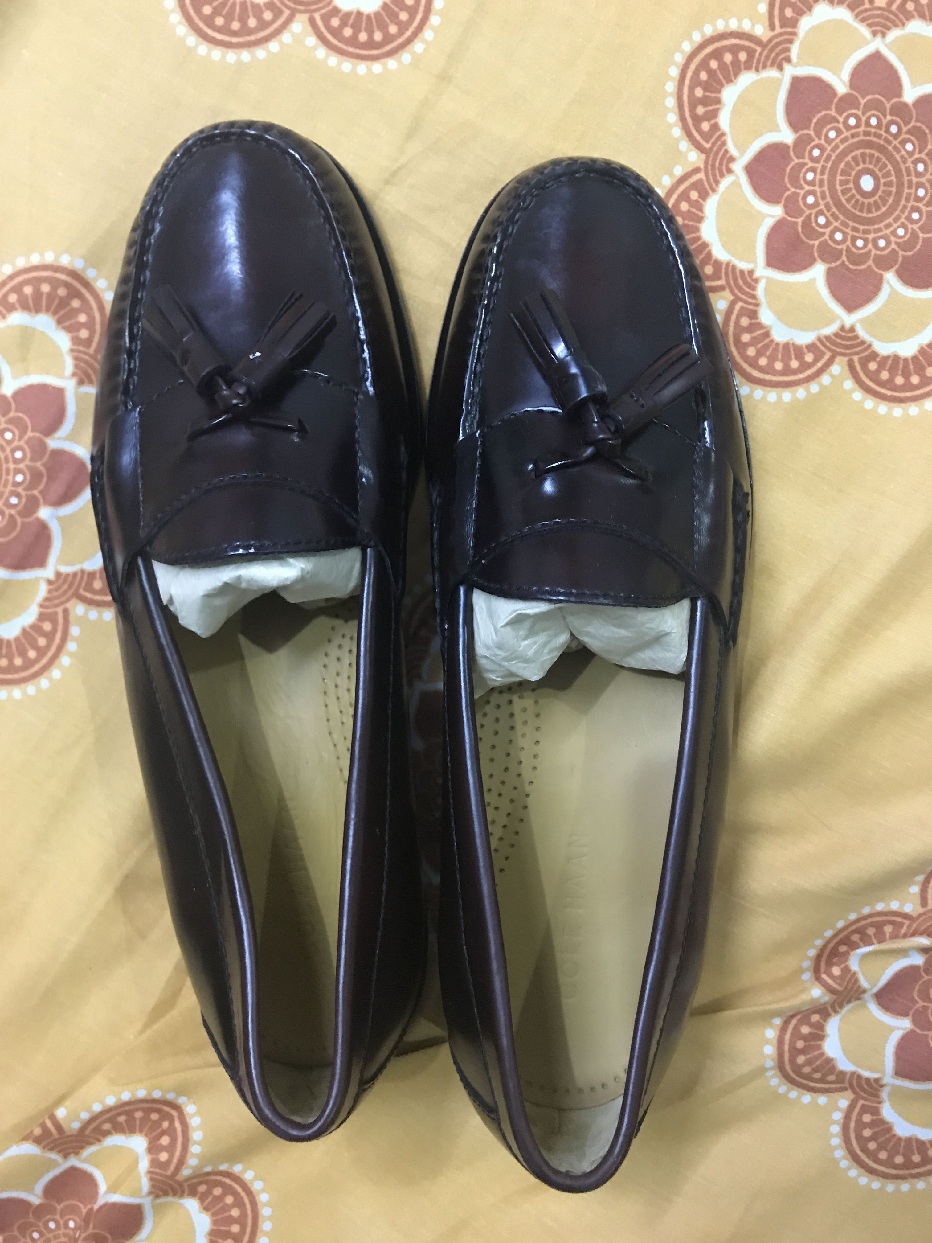 54f219b2d5e Pinch penny tassel loafers burgundy Cole haan
