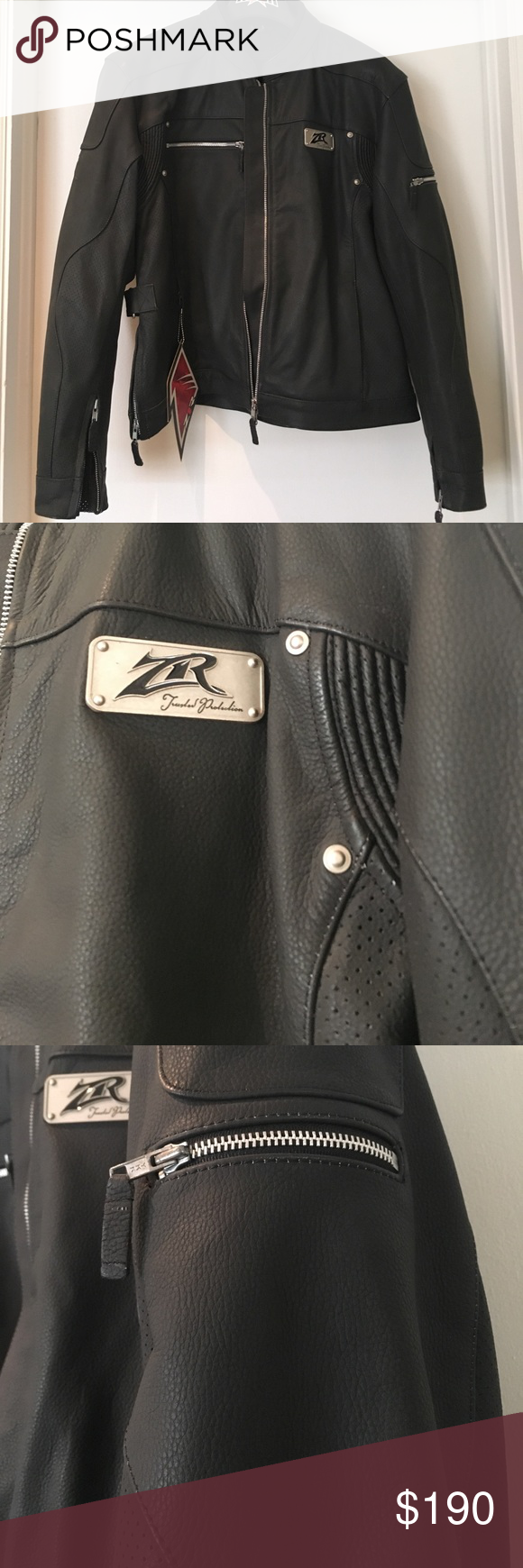 "Women's Motorcycle Jacket Black and brand new. Comes with zip out removable liner. ""Burlesque"" style Z1R Jackets & Coats"